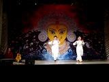 Танец Джатисварам. Исполняют Виталик Стритович и Анна Хорхе. Концерт перед Пуджей Дивали !!!